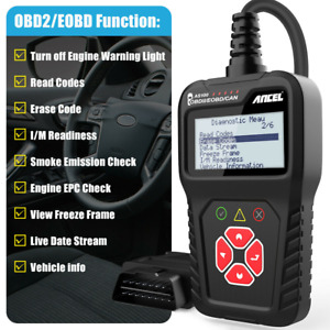 Auto Obd2 Code Reader Scanner Check Engine Abs Srs Diagnostic Tool For Vw Audi
