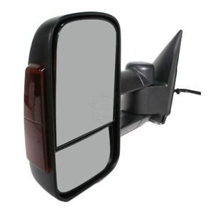 Side View Mirror Power Heated Signal Towing Driver Left Lh For Chevy Gmc Truck
