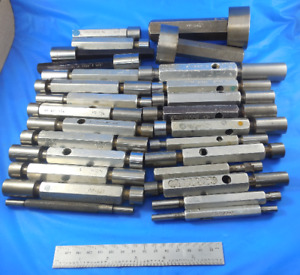 Lot Of 25 Smooth Plug Pin Gages Go No Go Assorted Machine Shop Inspection Tools