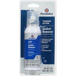 Permatex Voc Free Gasket Remover 4 Oz Powercan With Brush Tip Nozzle 80645