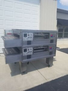 Middleby Marshall Ps555 Double Deck Conveyor Pizza Oven belt Width 32