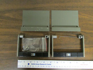 Pair Of Hp Agilent Spring loaded Test Equipment Handles Classic Green