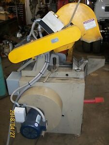 Everett 14 16 Abrasive Saw With Integral Dust Collector