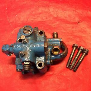 Ford 6000 Tractor Hydraulic Pump Unload Unloader Valve