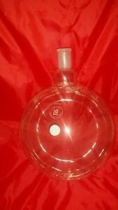 Round Bottom Lab Glass Flask 5l 1 Neck 24 40 5000ml laboratory Chemical Bottle