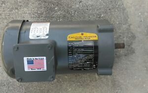 Baldor Wm3546 1 Hp 1725 Rpm Electric Motor
