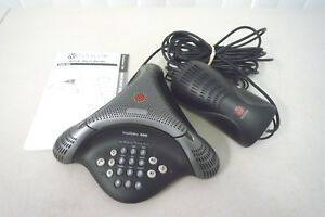 Polycom Voicestation 300 Conference Speaker Phone With Wall Module