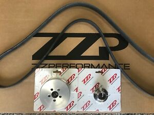 Zzperformance M90 3 8l 3800 3 6 Supercharger Pulley System W Hub Belt