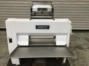 Dough Roller Sheeter Double Pass Through Anets Sdr21 7881 Rolling Machine Pizza