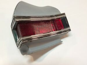 1968 Chevy Chevelle Rear Tail Light Assembly Passenger Side Vintage Original