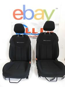 12 13 14 15 16 Veloster Black Cloth Front Bucket Seats L R Coupe Hot Rod