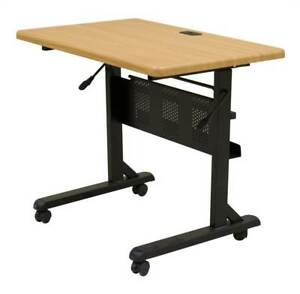 Flipper Training Table W Teak Laminate Top id 9394