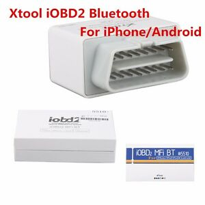 Xtool Iobd2 Bluetooth Obd2 Eobd Auto Scanner For I Phone Android With Bluetooth
