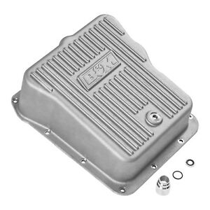 B m 70390 Finned Cast Aluminum Trans Pan Gm Allison Trans 2001 To 2018