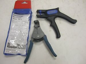 Lot Of 2 Ideal Wire Stripper Military Wire Stripping Stripmaster Gedore