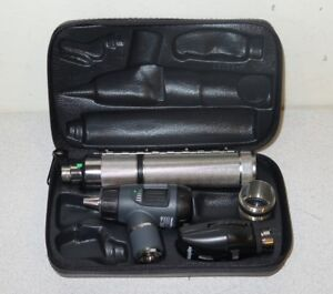 Welch Allyn 3 5v Macroview Otoscope Ophthalmoscope Kit 23810 11710 71050 c