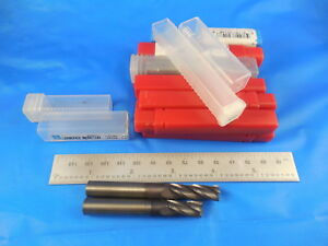 14 Pcs Approx 3 8 Dia 725 1 150 Loc 4 Flute Carbide End Mills 2 5 8 3 Oal