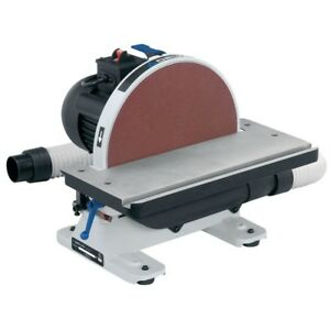 12 In Disc Sander 1 2 Hp 120 volt Bench Mount Dust Collection Port Miter Slot