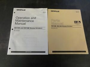 Caterpillar Cat Sg16b And Sg18b Stump Grinders Parts And Operation Manual