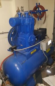 Quincy Model 340 Compressor 7 5 Hp Single Phase