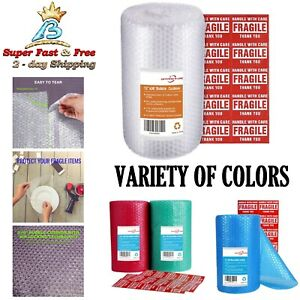 Bubble Wrap Roll Biodegradable Cushioning Wrap Packaging Shipping Supplies