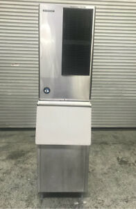 592 Lb Ice Maker Machine With 300 Lb Ice Bin Hoshizaki Km 600mah