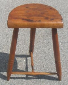 Vintage Used Wooden Stool Local Pickup Dover Nh Only 50 Or Best Offer