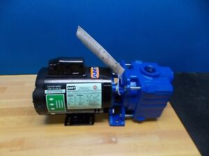 Amt Self Priming Centrifugal Pump 1 2 Hp Single Phase Cast Iron Model 2852 95