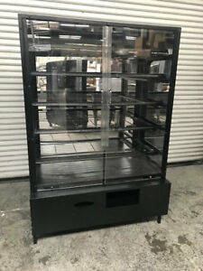 48 Dry Glass Bakery Display Case Cabinet Marco 8177 Bread Donut Baked Goods