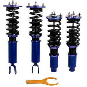 For Honda Accord 1990 1997 Full Coilover Suspension Kits Height Adjustable