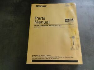 Caterpillar Cat 904b Compact Wheel Loader Parts Manual B4l Sebp4015 01