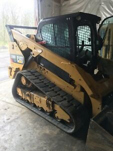 2015 Caterpillar 299d2 Xhp High Flow Compact Track Skid Steer Loader Cat 299