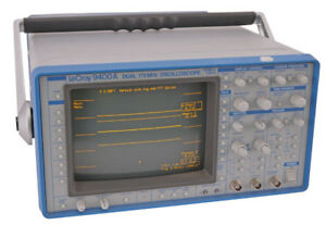 Lecroy 9400a Digital Portable Dual channel 175mhz 100 Ms s 5 Gs s Oscilloscope