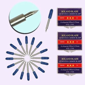 30 Pcs 60 Roland Cutting Blade knife For Cutting Plotter Sharp Small Letters