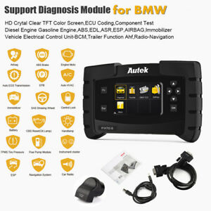 Obd2 Scanner For Bmw Car Abs Srs Sas Epb Oil Reset Gearbox Tpms Tool Ifix702 b