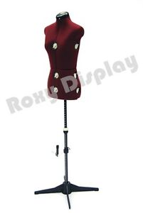 Adjustable Sewing Dress Form Female Mannequin Torso Stand Small Size jf fh 2