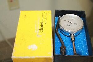 Vintage Central Tool Company Timing Gauge No 272 0 01mm