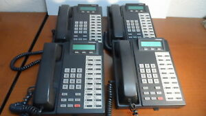 Toshiba Digital Corded Business Telephone Dkt2020 sd lot Of 4