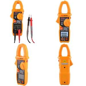 Smart Digital Ac Current Clamp Meter 6000 Counts Auto Scan Lcd Multimeter