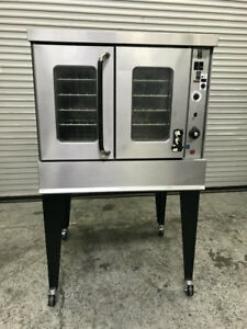 Single Gas Convection Oven Montague 115a Commercial Bakery Nsf Bake Deck Food
