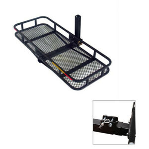 60 Floding Basket Hitch Mounted Cargo Carrier Cargo Bag Combo