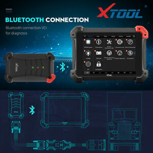 Xtool Ps90 Auto Obd2 Car Diagnostic Tool With Key Programmer Odometer Dpf Epb