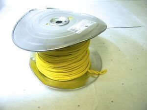 Southwire 10 Awg Machine Tool Wire Copper Stranded Yellow 500ft 411050502 Usa