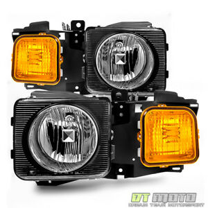 2006 2010 Hummer H3 H3t Headlights Headlamps Aftermarket Left Right 06 10 Pair