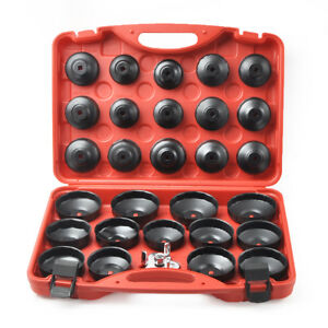 30pcs Oil Filter Cap Wrench Cup Socket Tool Set For Mercedes bmw vw audi volvo