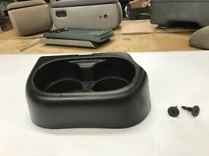 05 06 07 08 09 10 11 Ford Ranger Center Console Bench Seat Cupholders Oem