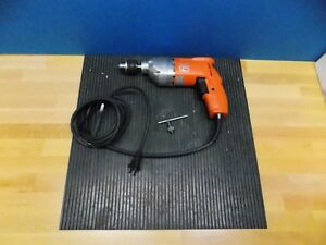 Fein Electric Drill 3 8 Capacity Keyed Chuck 1200 Rpm Max Model asge 636