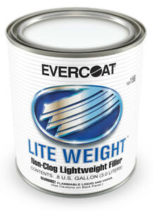 Evercoat Lite Weight Body Filler 156 Non Clogging Lightweight Filler 8 Gallon