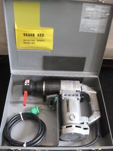 Tone Simple Torque Shear Wrench Model Sr121e With 1 13 16 Socket