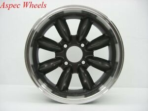 16x7 Rota Rb 4x100 40 Royal Gun Metal Rims New Set